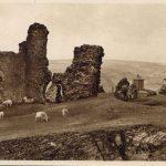 Castle dinas bran and camera obscura postcard