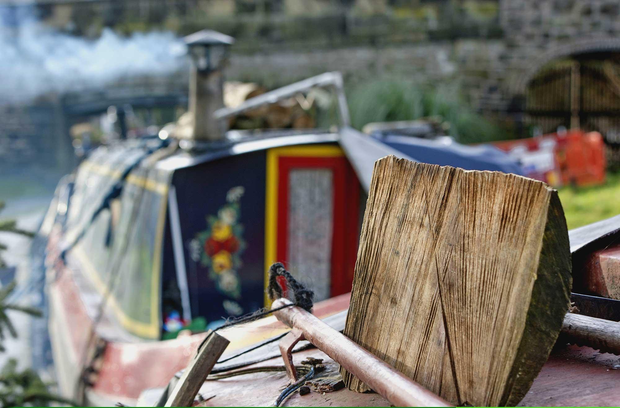 Canal Boat LLangollen
