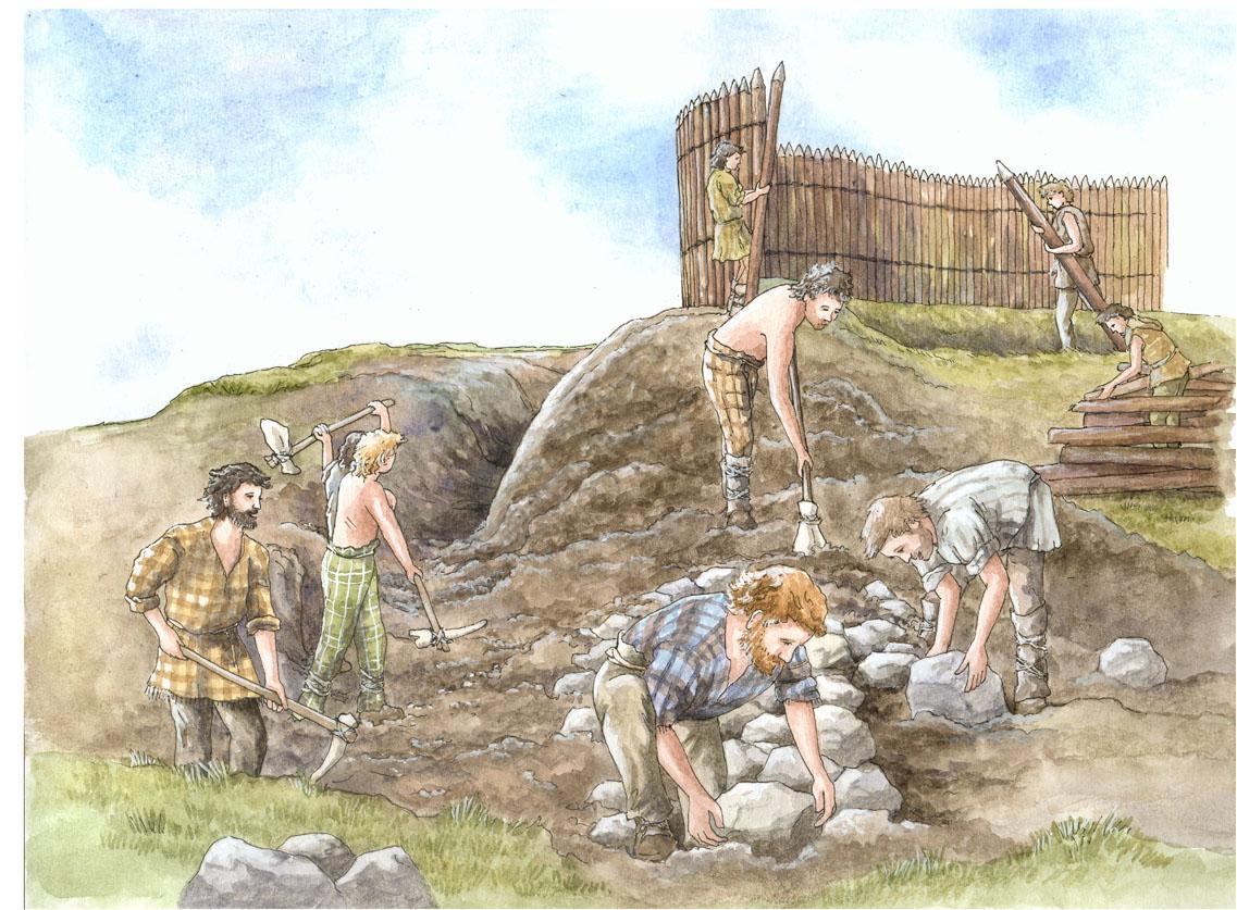 Moel Fenlli Illustration