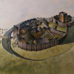 illustration of Tomen y Rhodwydd, Llandegla