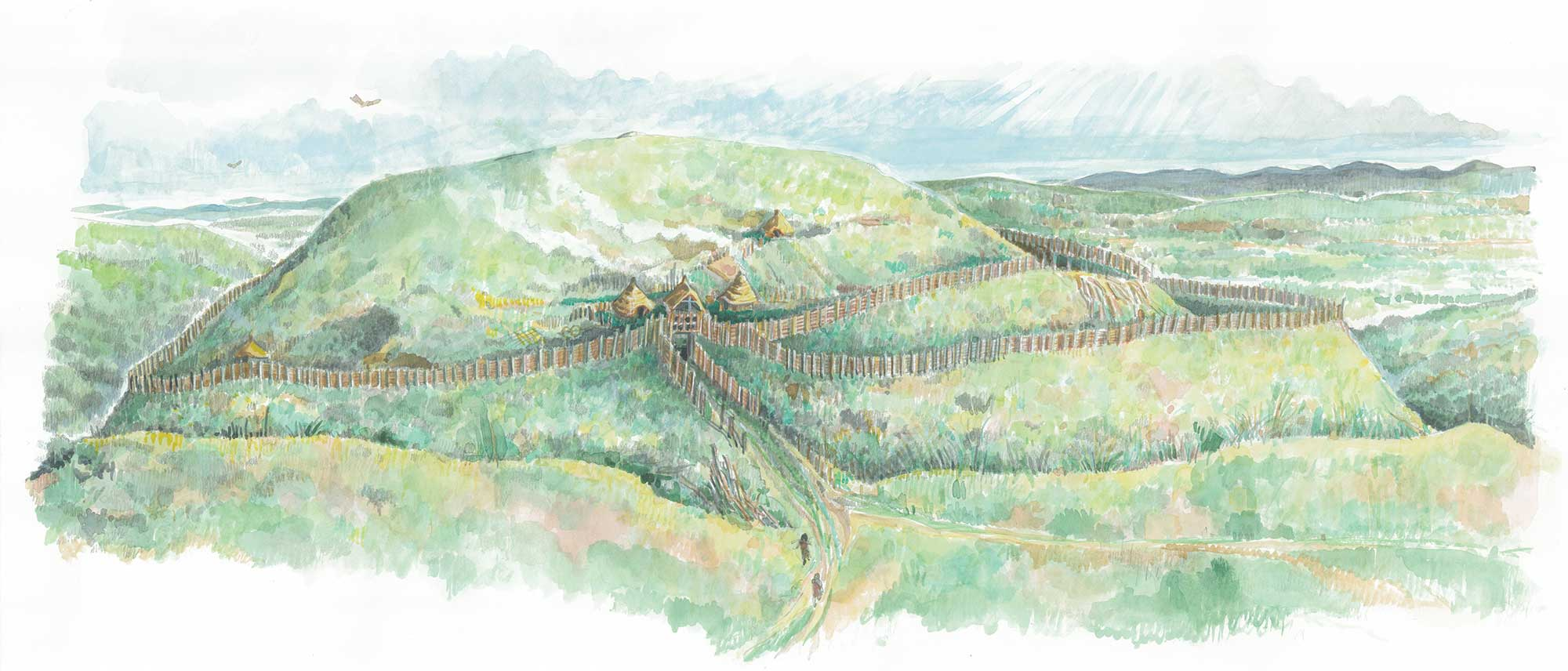 illustration of moel arthur