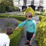 Children at Plas Newydd Llangollen