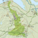Map of AONB