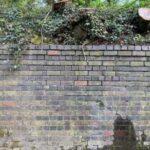 Glyn Valley Tramway Wharf Wall - Wal Tramffordd Cei Dyffryn Glyn