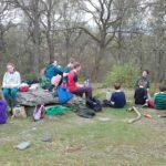 Ceidwaid Ifanc ym Mhen y Pigyn / Young Rangers at Pen y Pigyn